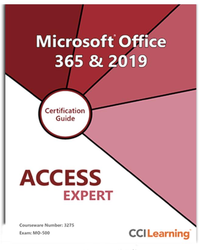 MOS Access Expert MO-500, MOS Access Expert MO-500