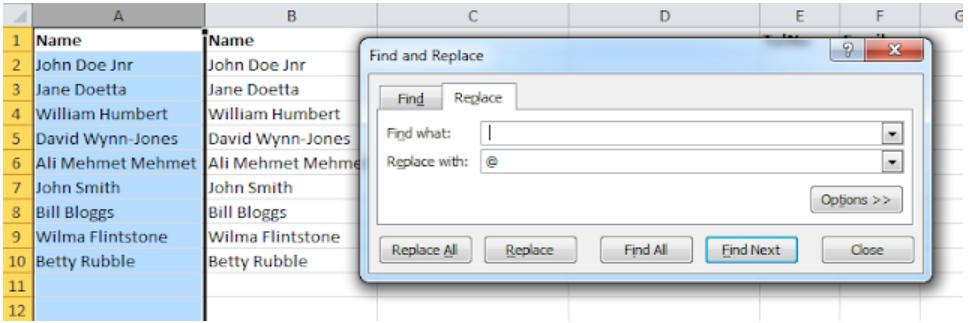Excel Sort by Last Name, Excel Sort by Last Name