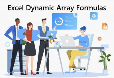 Excel Dynamic Array Formulas Training Courses